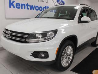 Used 2016 Volkswagen Tiguan 2.0 TSI 4motion AWD, heated seats, back up cam, push start/stop for sale in Edmonton, AB