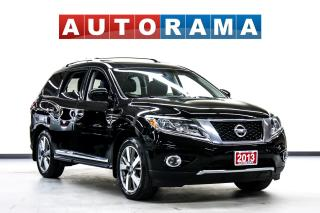 Used 2014 Nissan Pathfinder Platinum 4WD Navigation Leather Sunroof Backup Cam for sale in Toronto, ON