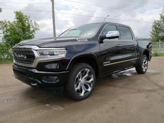 New 2019 RAM 1500 Limited 4x4 Crew Cab for sale in Edmonton, AB