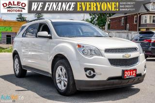 Used 2012 Chevrolet Equinox 1LT| BACK UP CAM | BLUETOOTH | SAT RADIO | for sale in Hamilton, ON