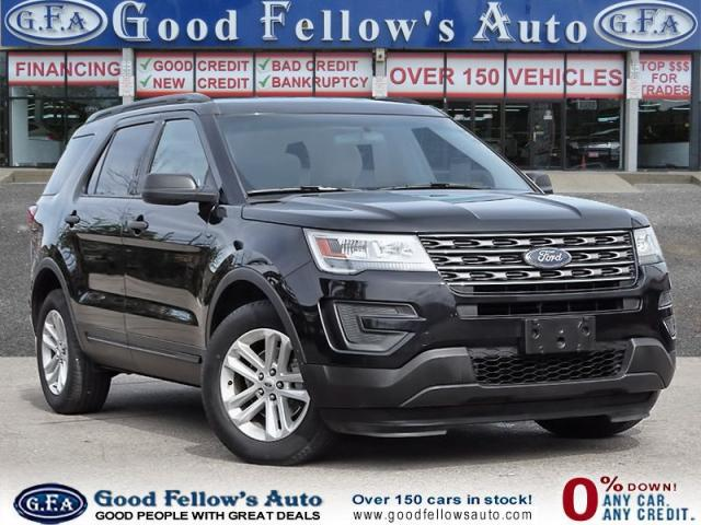 2016 Ford Explorer REARVIEW CAMERA, BLUETOOTH CONNECTIVITY, 7 PASS