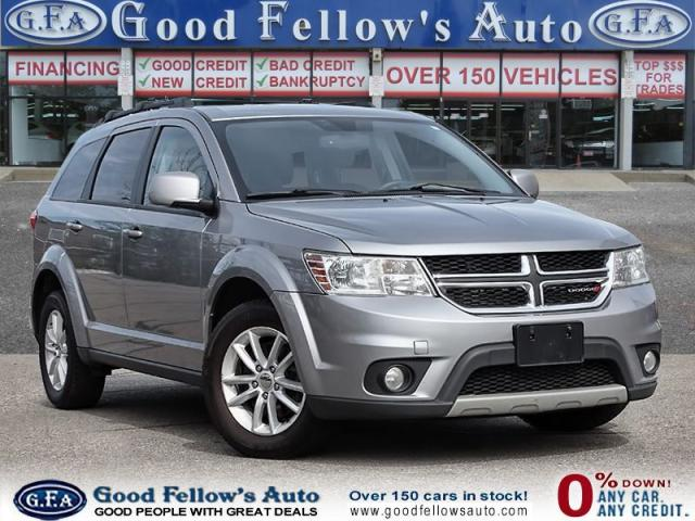 2016 Dodge Journey SXT MODEL, 4CYL 2.4 LITER, 7PASSENGER