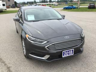 Used 2018 Ford Fusion SE | One Owner | Bluetooth for sale in Harriston, ON
