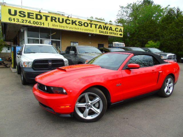 2012 Ford Mustang GT Convertible Leather 5.0