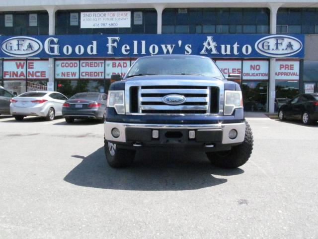 2009 Ford F-150 XLT MODEL, CREWCAB, POWER SEATS, 5.4 LITER, 4WD