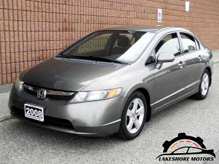 Used 2008 Honda Civic LX || CERTIFIED || AUTO for sale in Waterloo, ON