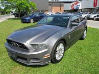 Used 2013 Ford Mustang V6 Premium~LEATHER~AUTOMATIC~SHAKER~CERTIFIED~ for sale in Toronto, ON
