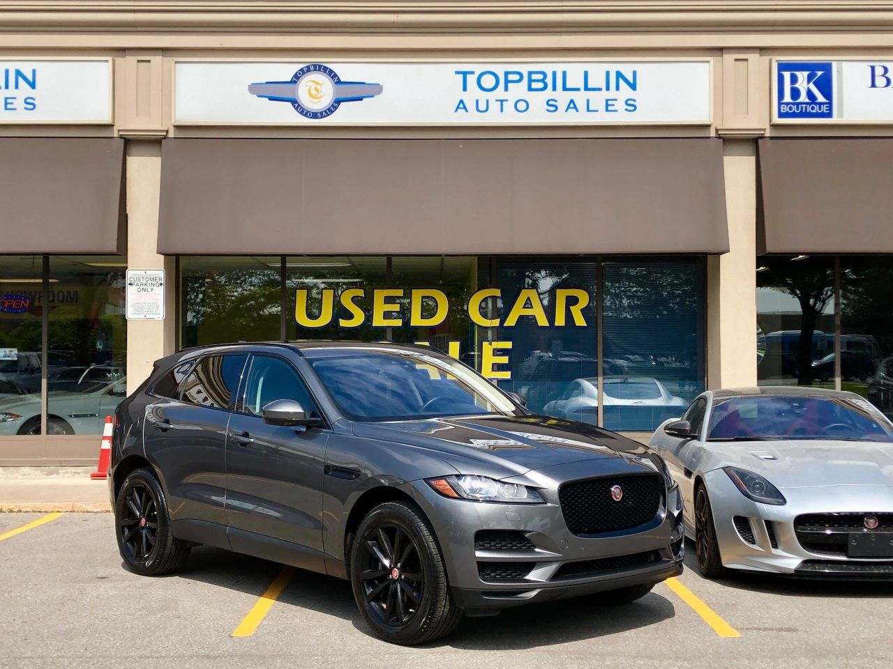 2018 Jaguar F-PACE Prestige, Fully Loaded, No Accidents