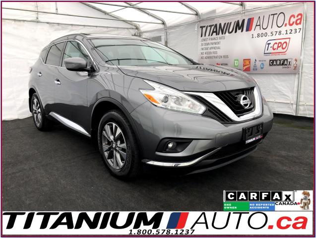 2016 Nissan Murano SV+AWD+GPS+Camera+Pano Roof+Remote Start+Power Gat