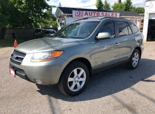 Used 2009 Hyundai Santa Fe Limited/AWD/Comes Certified/1Owner/Bluetooth for sale in Scarborough, ON