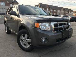 Used 2010 Ford Escape XLT|4WD|Alloys Wheels|Certified for sale in Burlington, ON