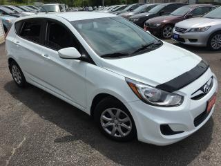 Used 2012 Hyundai Accent L/ 5 SPEED/ POWER GROUP/ COLD A/C/ LOADED! for sale in Scarborough, ON