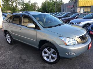 Used 2008 Lexus RX 350 NAVI/ REVERSE CAM/ LEATHER/ SUNROOF/ ALLOYS! for sale in Scarborough, ON