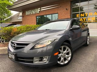 Used 2010 Mazda MAZDA6 GT Sunroof Heated Seats Blind Spot Det. Certified for sale in Concord, ON