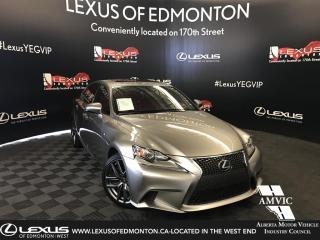 Used 2016 Lexus IS 300 F-Sport Series 3 for sale in Edmonton, AB