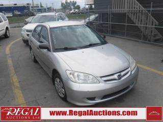 Used 2004 Honda Civic DX 4D Sedan for sale in Calgary, AB