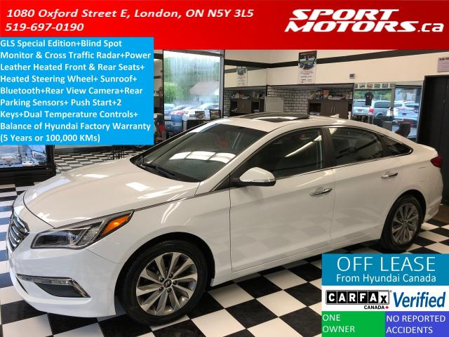 2016 Hyundai Sonata 2.4L GLS Special Edition+Blind Spot+Heated Leather