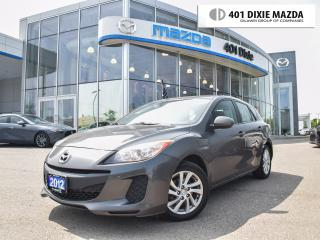 Used 2012 Mazda MAZDA3 Sport GX (M5)|FINANCE AVAILABLE|MANUAL TRANSMISSION for sale in Mississauga, ON