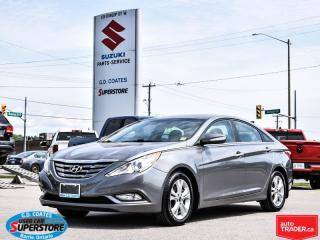 Used 2011 Hyundai Sonata Limited w/Nav for sale in Barrie, ON
