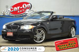 Used 2008 BMW 1 Series 135 300 HP 6 SPEED CONVERTIBLE LOADED for sale in Ottawa, ON