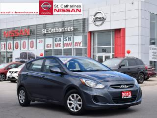 Used 2013 Hyundai Accent 2013 Hyundai Accent - 5dr HB Auto GL for sale in St. Catharines, ON