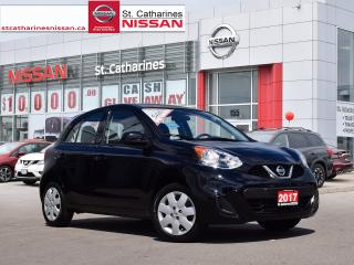 Used 2017 Nissan Micra 2017 Nissan Micra - 4dr HB Man SV for sale in St. Catharines, ON