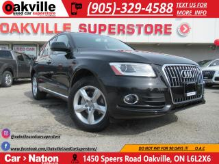 Used 2016 Audi Q5 2.0T Komfort | LEATHER | BLUETOOTH | ACCIDENT FREE for sale in Oakville, ON