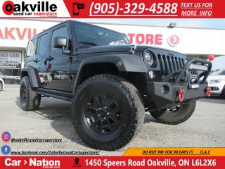 Used 2016 Jeep Wrangler Unlimited WILLYS 4X4 | DUAL TOP | BIG KO2 TIRE | AC for sale in Oakville, ON