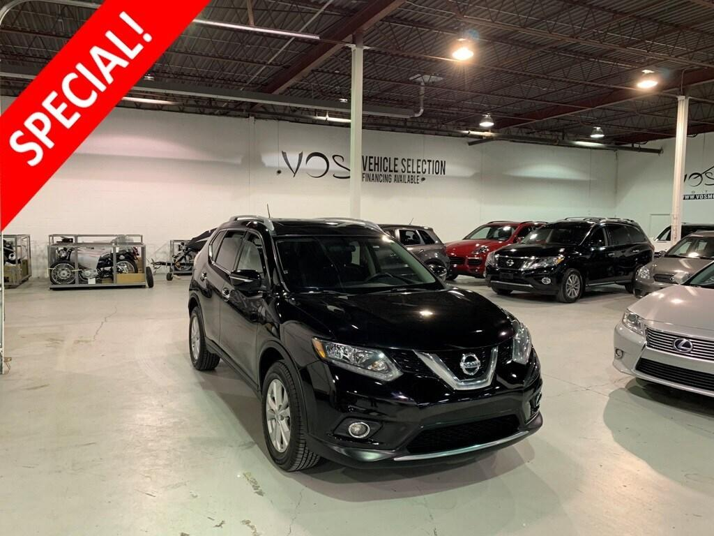 Nissan Rogue 7 Seater >> Used 2015 Nissan Rogue S 7 Seater Rare No Payments For 6