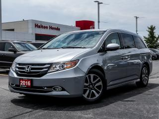Used 2016 Honda Odyssey Touring for sale in Burlington, ON