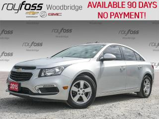 Used 2015 Chevrolet Cruze LT 2LT PIONEER, SUNROOF, LEATHER for sale in Woodbridge, ON
