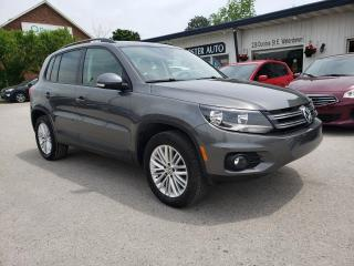 Used 2015 Volkswagen Tiguan SPECIAL ED for sale in Waterdown, ON