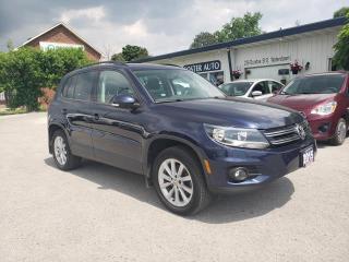 Used 2015 Volkswagen Tiguan COMFORTLINE for sale in Waterdown, ON