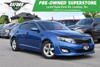 Used 2014 Kia Optima LX w/Sunroof - Low Kms, FWD, UConnect/Bluetooth, S for sale in London, ON