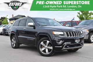 Used 2015 Jeep Grand Cherokee Overland - 3.0L Diesel, GPS, Sunroof, Backup, UCon for sale in London, ON