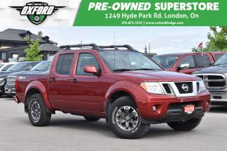 Used 2019 Nissan Frontier PRO-4X - Low Kms, Heated Seats, Sunroof, Backup for sale in London, ON