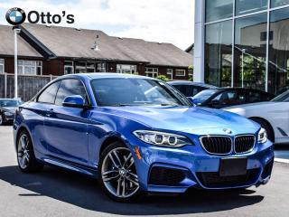Used 2016 BMW 228i xDrive Coupe M Track Package loaded for sale in Ottawa, ON