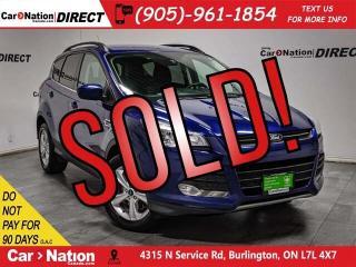 Used 2015 Ford Escape SE| 4X4| BACK UP CAMERA & SENSORS| for sale in Burlington, ON