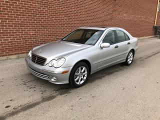 Used 2005 Mercedes-Benz C-Class 4dr Sdn 2.6L 4MATIC for sale in Mississauga, ON