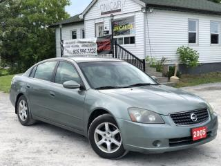 Used 2005 Nissan Altima No-Accidents Power Group A/C Cruise for sale in Sutton, ON