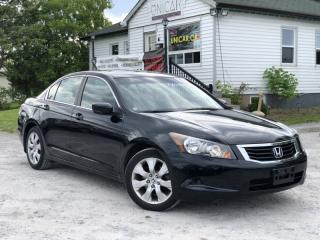 Used 2009 Honda Accord Sedan 1-Owner No-Accidents EX-L Leather Sunroof for sale in Sutton, ON