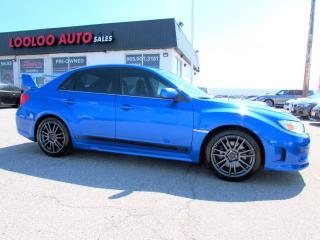 Used 2013 Subaru Impreza WRX STi STI AWD 6 SPEED MANUAL BLUETOOTH CERTIFIED for sale in Milton, ON