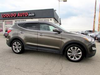 Used 2013 Hyundai Santa Fe Sport 2.0L AWD LIMITED NAVIGATION CAMERA CERTIFIED 2YR WARRANTY for sale in Milton, ON