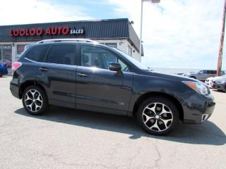 Used 2014 Subaru Forester 2.0XT Touring   Tech Pkg Eyesight Navigation Camera Certified for sale in Milton, ON