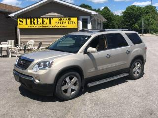 Used 2011 GMC Acadia SLT 2 AWD ROOF LEATHER NAVIGATION for sale in Smiths Falls, ON