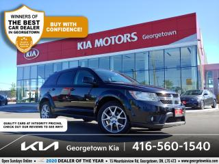Used 2016 Dodge Journey LIMITED | 7 PASS | SUNROOF | R/DVD | HTD SEATS for sale in Georgetown, ON