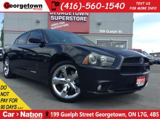 Used 2011 Dodge Charger R/T | V8 | NAVI | LEATHER | ROOF | BACK UP CAM for sale in Georgetown, ON