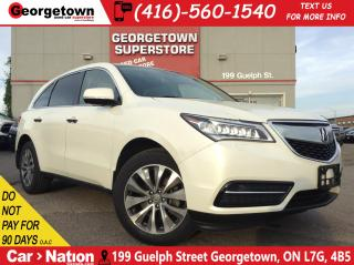 Used 2016 Acura MDX NAVI | 7 PASS | AWD| ROOF | CAM | SAFETY ASSIST for sale in Georgetown, ON