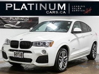 Used 2016 BMW X4 xDrive28i M-SPORT, NAVI, Intelligent SAFETY, CAM X4 for sale in Toronto, ON
