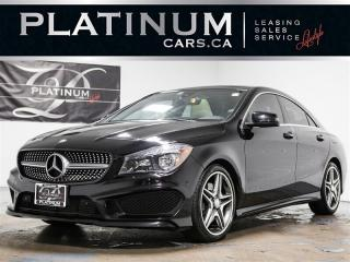 Used 2015 Mercedes-Benz CLA250 4MATIC, AMG SPORT, NAVI, PANO, Heated Lthr for sale in Toronto, ON